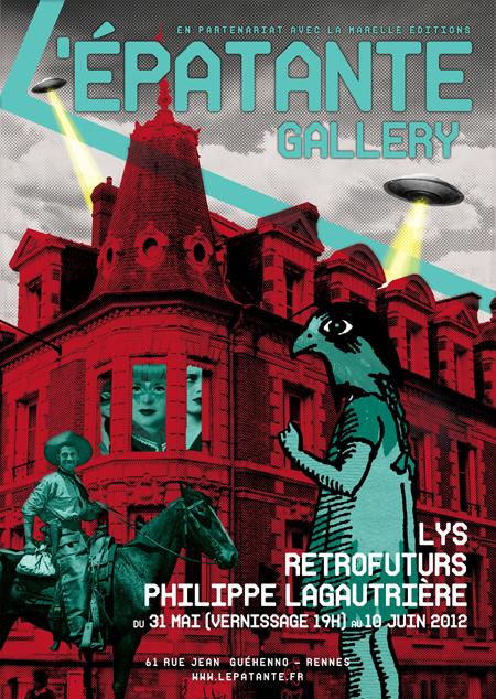 Une nouvelle exposition à La Marelle s annonce. Du 31 mai au 10 juin 2012,  au rez de chaussée du 61 rue Jean Guéhenno, Lys, Retrofuturs et Philippe ... 8c054b78e5d
