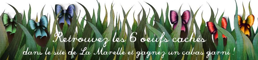 Ce week-end, les cloches passent aussi sur le site de La Marelle et 6 oeufs  en chocolat s y sont cachés. Saurez-vous les retrouver   42729a4160a