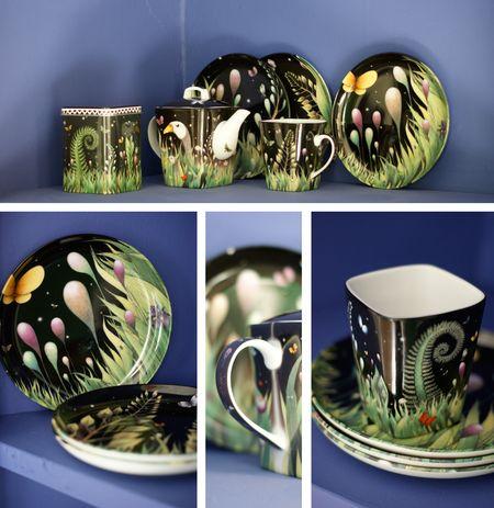 Porcelaine-thé